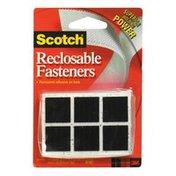 Scotch Reclosable Fasteners, 7/8-Inch Square