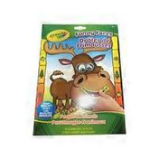Crayola People & Animals Funny Faces Colouring & Sticker Book