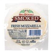BelGioioso Fresh Mozzarella Cheese, Smoked with Natural Hickory, Ball, Cryo