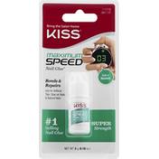 Kiss Nail Glue, Maximum Speed, Super Strength