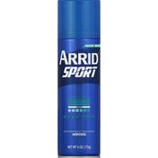 Arrid Antiperspirant Deodorant, Aerosol, Overtime