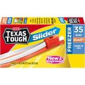 H-E-B Slider Quart H-E-B Texas Tough Slider Quart Freezer Bags