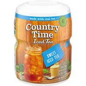 Country Time Sweet Iced Tea Naturally Flavored Powdered Drink Mix