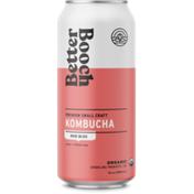 Better Booch Tea Rose Bliss Premium Organic Kombucha