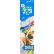 SB Freezer Bags, Slider, Gallon