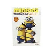 Bendon Minion Sticker Scene Plus Coloring & Activity Book