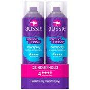 Aussie Instant Freeze Extreme Hold Hairspray
