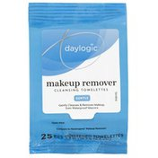 Rite Aid Daylogic Makeup Remover Cleansing Towelettes,  25 Count