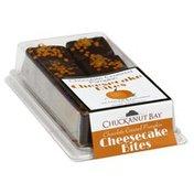 Chuckanut Bay Foods Cheesecake Bites, Chocolate Covered Pumpkin