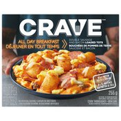Crave All Day Breakfast Double Sausage and Bacon Loaded Tots