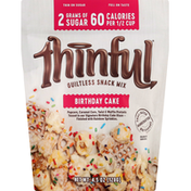 Thinful Snack Mix, Guiltless, Birthday Cake