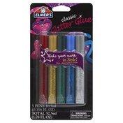 Elmer's Glitter Glue, Classic, Blister Pack