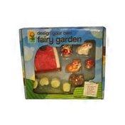 Toysmith Design Your Own Fairy Garden Toy Set
