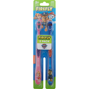 Firefly Toothbrush, Soft, Paw Patrol, 3+, 2 Pack