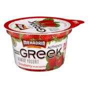 MEHADRIN Nonfat Greek Yogurt Strawberry