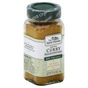 The Spice Hunter Seasoning, Curry, Salt Free, Organic, Bottle
