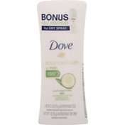 Dove Antiperspirant Stick & Antiperspirant Dry Spray, Cool Essentials, Nutrium Moisture, 48h