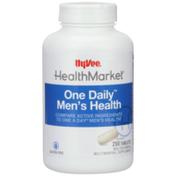 Hy-Vee Healthmarket, One Daily Men'S Health Multivitamin & Multimineral Supplement Tablets