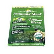 Amazing Grass Amazing Meal A potent blend of organic protein, greens, fruits & veggies Dietary Supplement Packet, Original