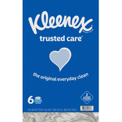Kleenex Trusted Care Everyday Facial Tissue Flat Box