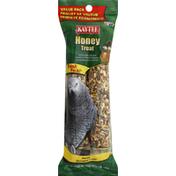 Kaytee Honey Treat, Parrot, Value Pack