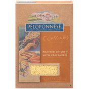 Peloponnese Roasted Chicken with Vegetables Couscous