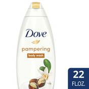 Dove Body Wash Shea Butter With Warm Vanilla