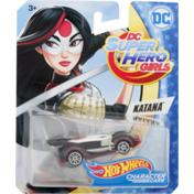 Hot Wheels DC Super Hero Girls Katana 3+