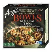 Amy's Kitchen Frozen Bowls, General Tso, Gluten Free, Dairy Free