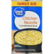 Great Value Condensed Soup, Chicken Noodle, Family Size