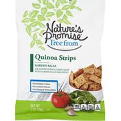 Nature's Promise Quinoa Strips Garden Salsa