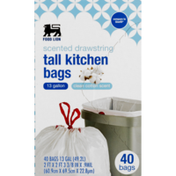 Food Lion Fl Clean Scent Drawstring Kit Bags