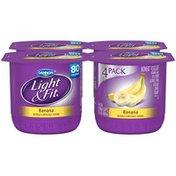 Dannon Light & Fit Banana 6 Oz Light & Fit Nonfat Yogurt