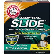 Arm & Hammer Slide Easy Clean-Up Litter, Non-Stop Odor Control