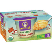Annie's Real Aged Cheddar Macaroni & Cheese, 12 Count