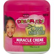 African Pride Hair Strengthener, Anti-Breakage, Miracle Creme