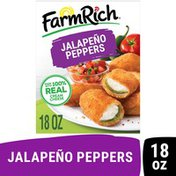 Farm Rich Breaded Jalapeno Peppers Stuffed with 100% Real Cream Cheese