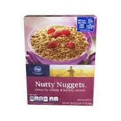 Kroger Nutty Nuggets, Crunchy Wheat & Barley Cereal