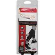 Copper Fit Copper Infused Calf Sleeves - L/XL - Black