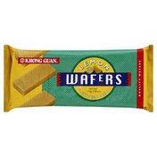 Khong Guan Cookies, Wafers, Lemon, Bag
