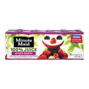 Minute Maid Mixed Berry 100% Juice - 10 PK