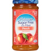 Polaner Peach Sugar Free with Fiber Preserves