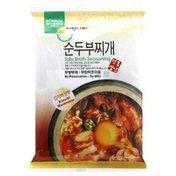 Jayone Tofu Broth Seasoning, Kimchi Mushroom