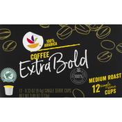 SB Coffee, 100% Arabica, Medium Roast, Extra Bold, Single Serve Cups