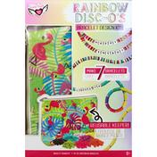Fashion Angels Bracelet Design Kit, Rainbow Disc-O's, 8+