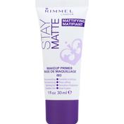 Rimmel Makeup Primer, Mattifying, 003