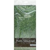 Creative Converting Table Cover, Plastic, Sports Fanatic-Grass