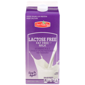 Our Family Lactose Free Fat Free Milk