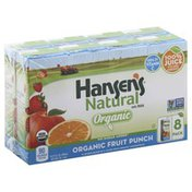 Hansen's Natural Organic Fruit Punch Juice Cartons