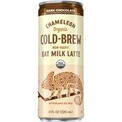 Chameleon Organic Non-Dairy Dark Chocolate Flavored Oat Milk Latte Cold Brew Coffee